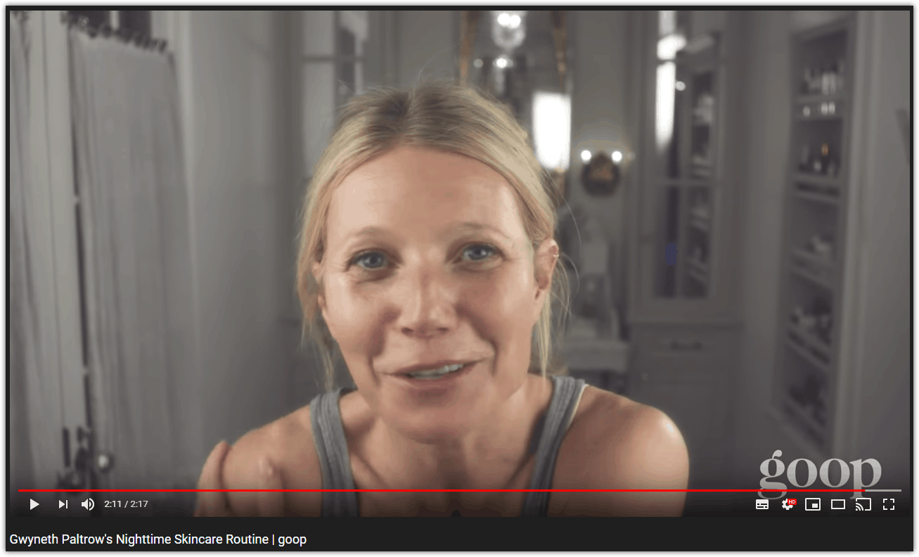 Gwyneth Paltrow Goop Skincare Routine